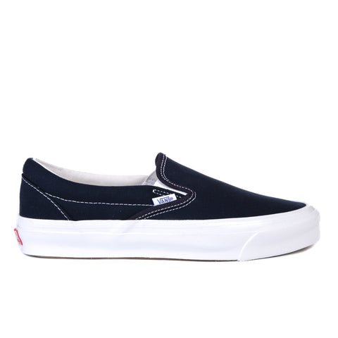 VAULT BY VANS OG CLASSIC SLIP-ON LX CANVAS NAVY