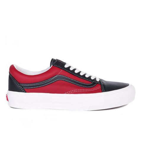 VAULT BY VANS OLD SKOOL VLT LX BLACK / CHILI PEPPER