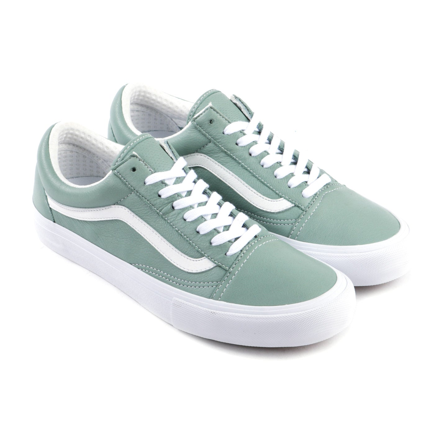VAULT BY VANS OLD SKOOL LX ITALIAN LEATHER CIELO