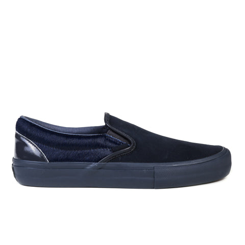 VAULT BY VANS CLASSIC SLIP-ON LX ENGINEERED GARMENTS NAVY MULTI