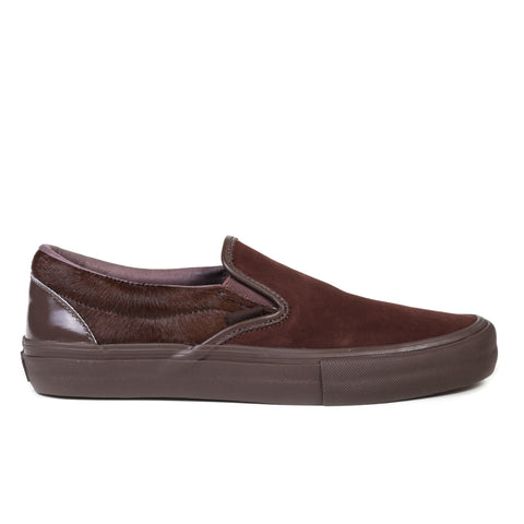 VAULT BY VANS CLASSIC SLIP-ON LX ENGINEERED GARMENTS BROWN MULTI