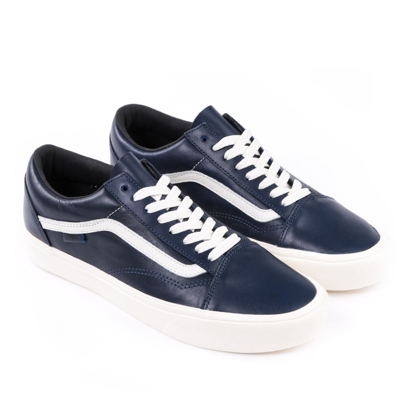 VAULT BY VANS OLD SKOOL LITE LX HORWEEN LEATHER LAPIS BLUE