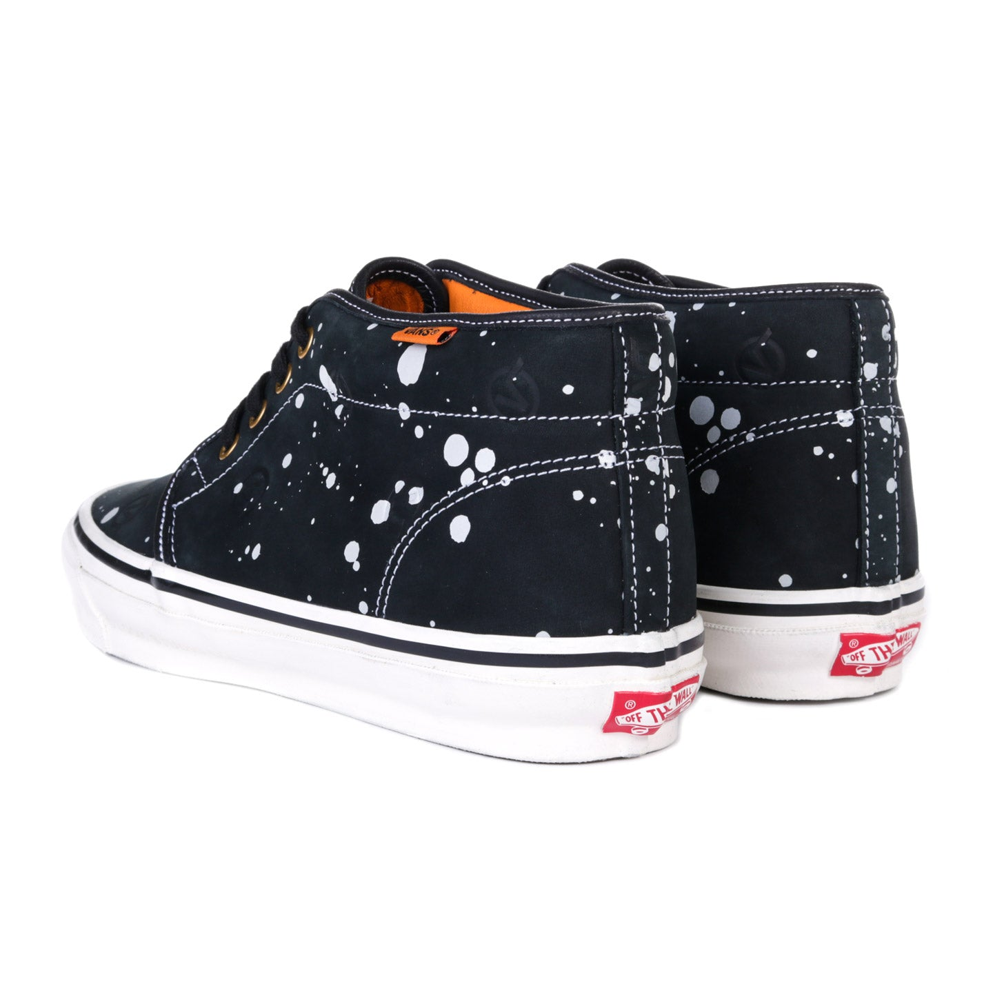 VAULT BY VANS LQQK STUDIO OG CHUKKA BOOT LX SPLATTER BLACK