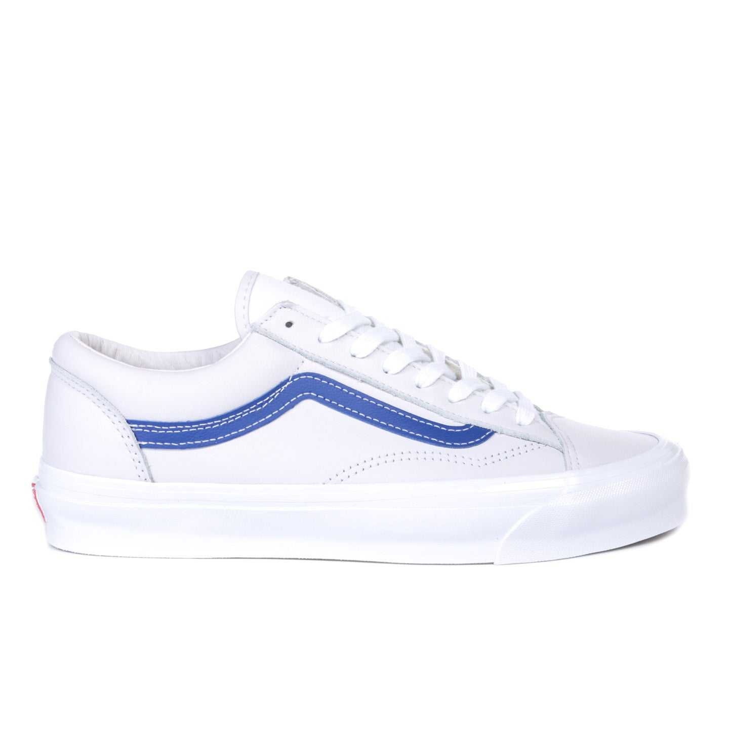 VAULT BY VANS OG OLD SKOOL LX CHECKERBOARD MAJOLICA BLUE
