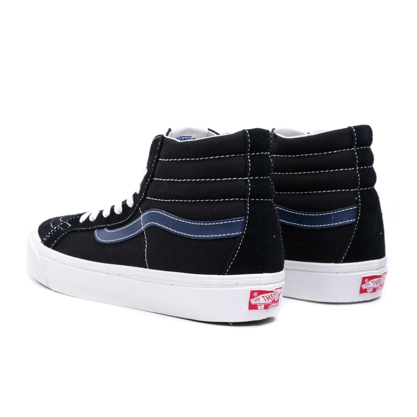 VAULT BY VANS OG SK8-HI LX BLACK / DRESS BLUE