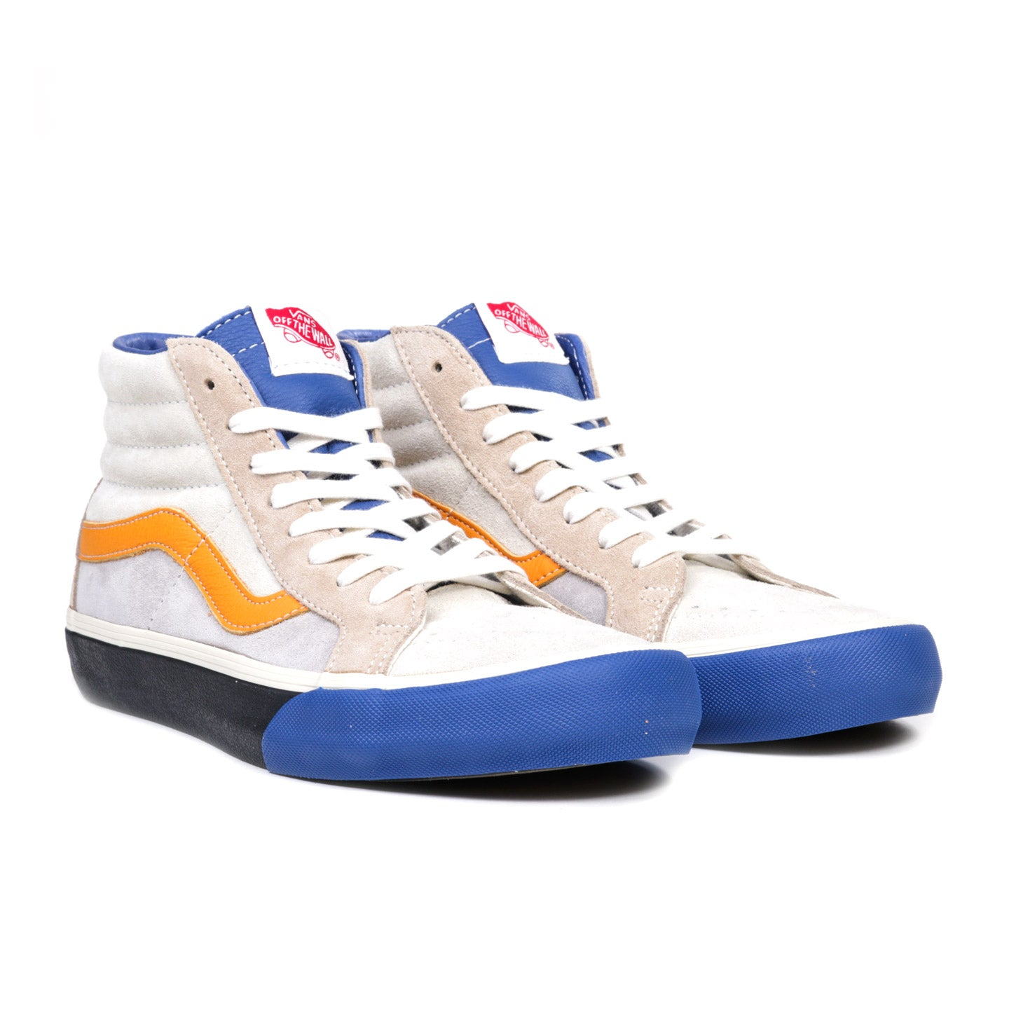 VAULT BY VANS SK8-HI REISSUE LX TRUE BLUE / GINGER