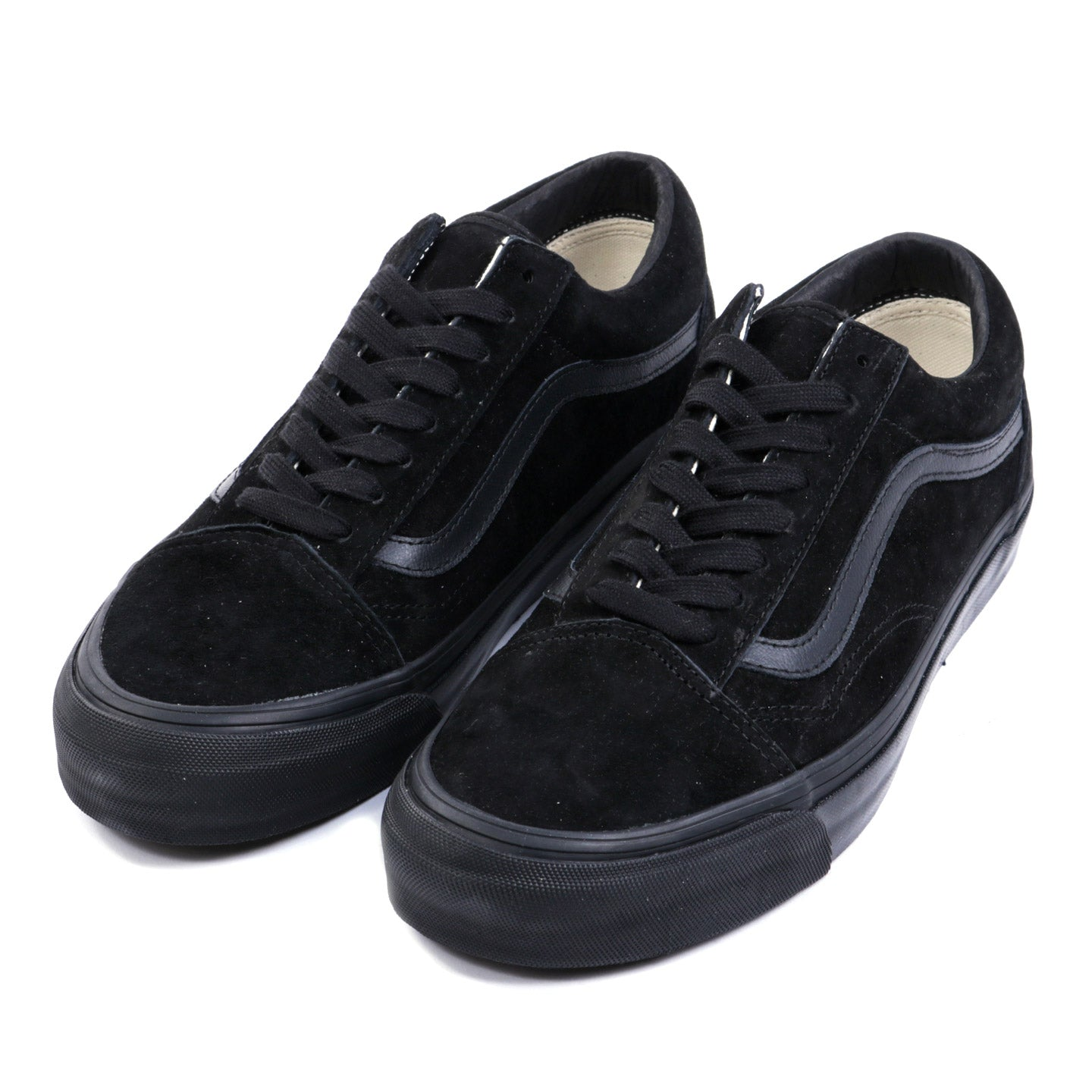 VAULT BY VANS OG OLD SKOOL LX BLACK SUEDE