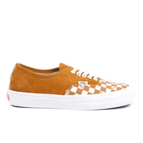 VAULT BY VANS OG AUTHENTIC LX BUCKTHORN BROWN / CHECKERBOARD
