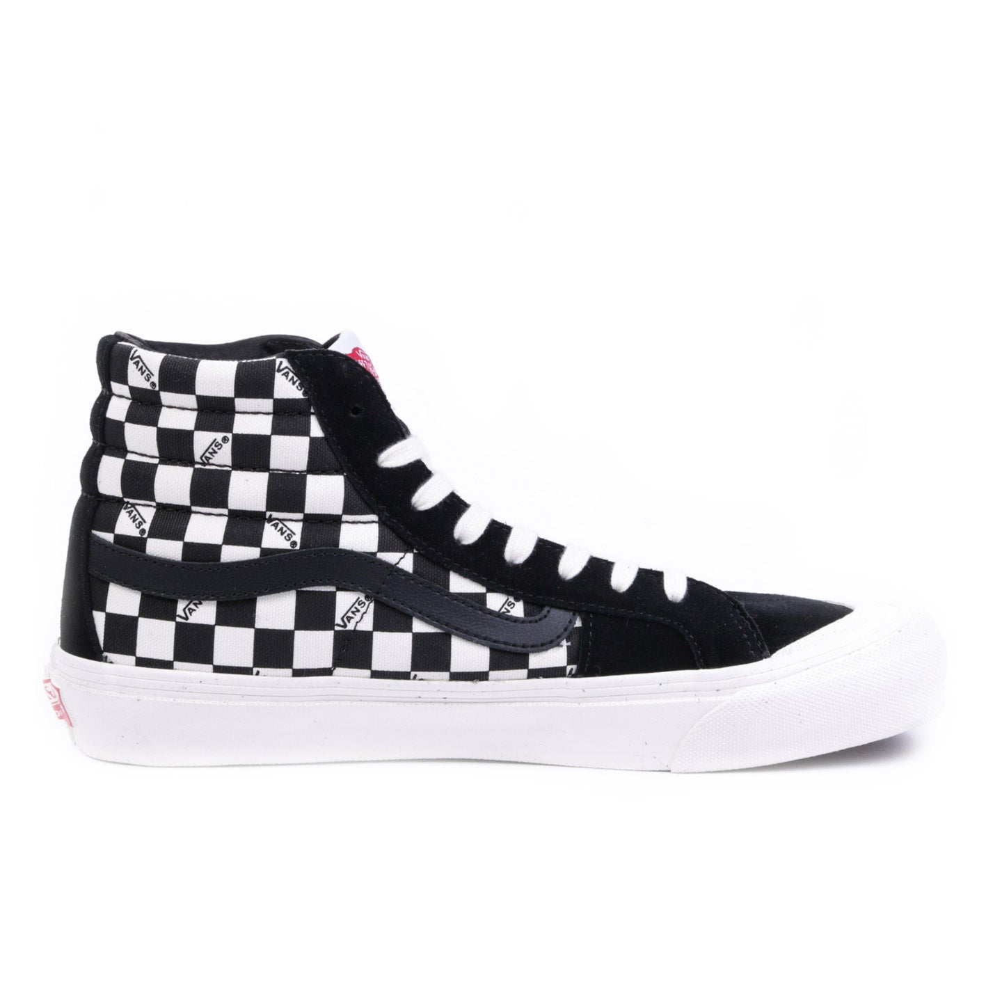 VAULT BY VANS OG STYLE 138 LX BLACK / CHECKERBOARD
