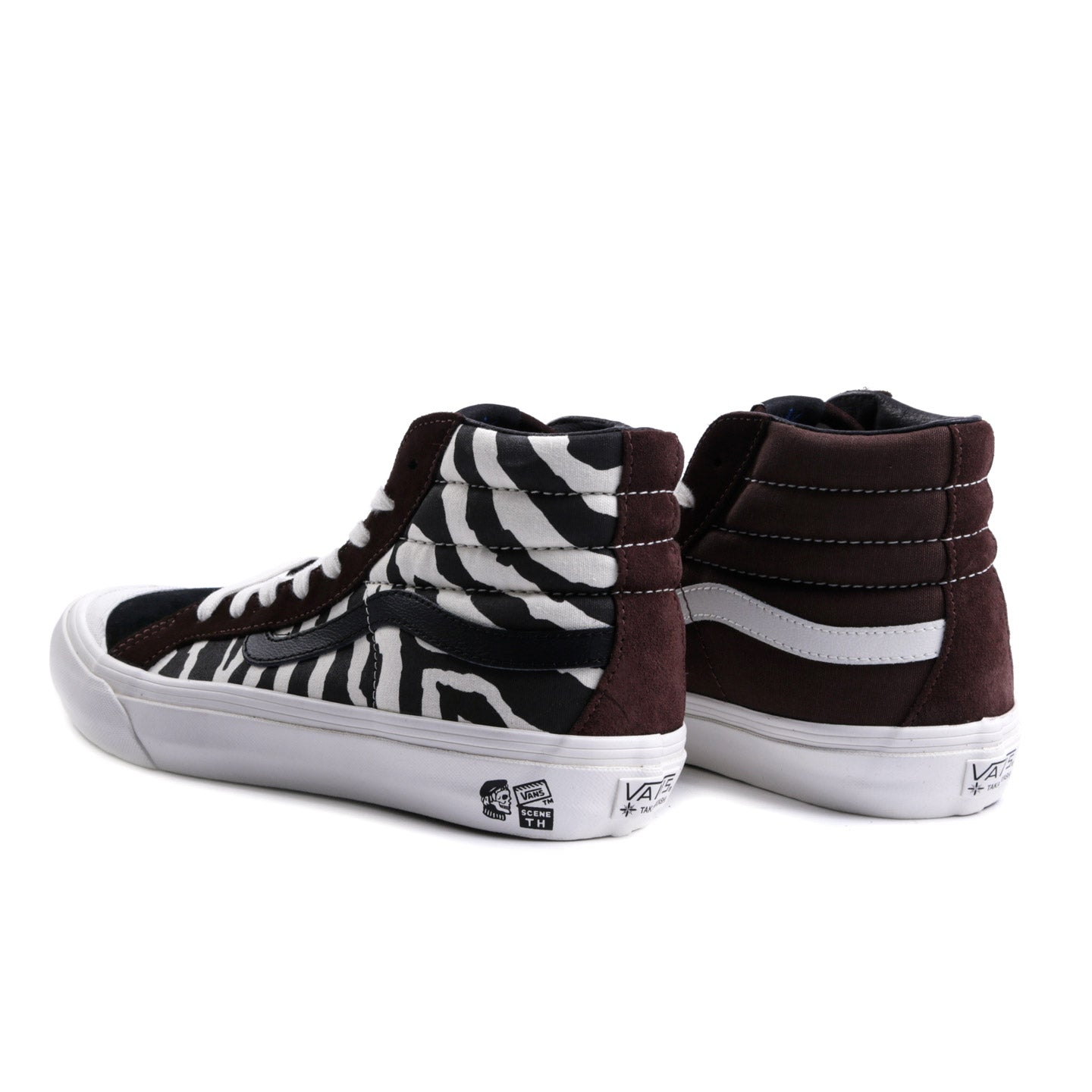 VAULT BY VANS TH STYLE 138 LX ZEBRA