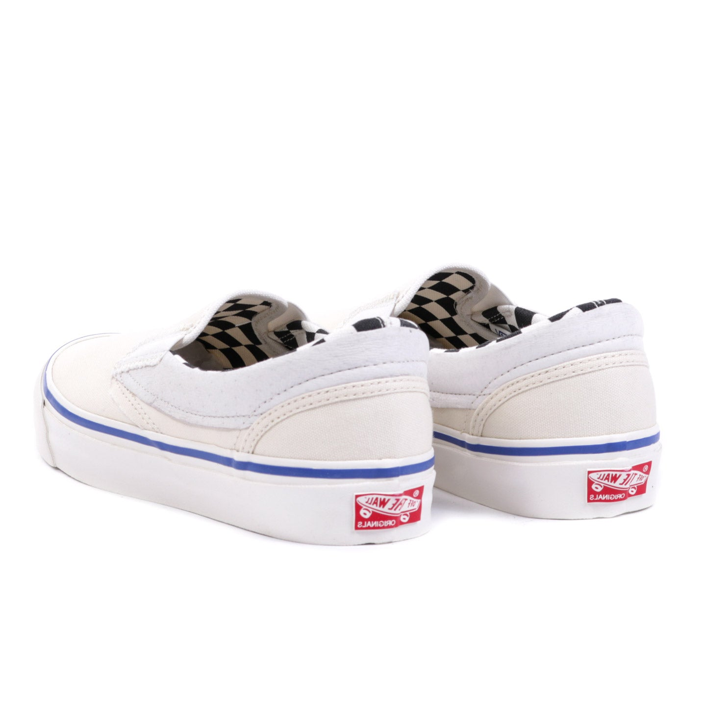 VAULT BY VANS OG CLASSIC SLIP-ON INSIDE OUT CHECKERBOARD