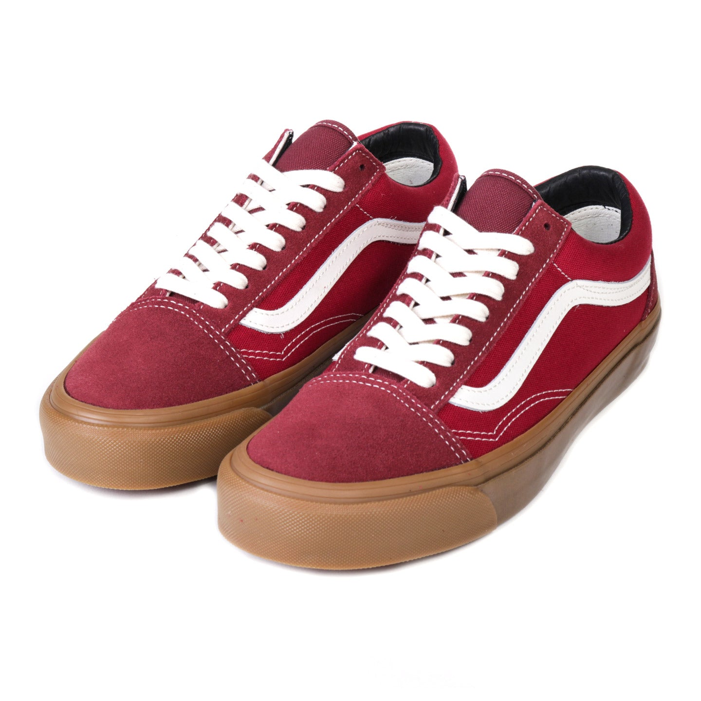 VAULT BY VANS OG OLD SKOOL LX MADDER BROWN / JESTER RED