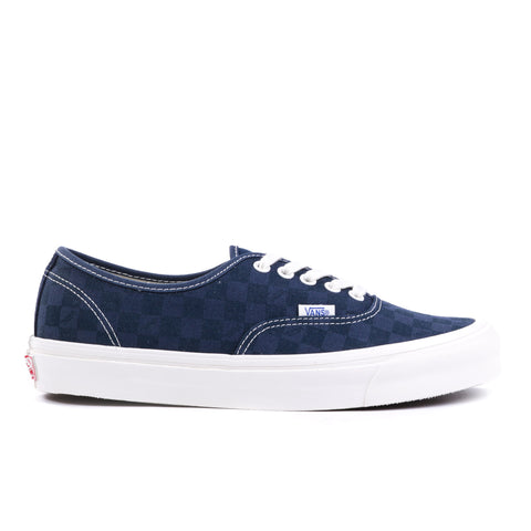 VAULT BY VANS OG AUTHENTIC LX CHECKERBOARD MAJOLICA BLUE