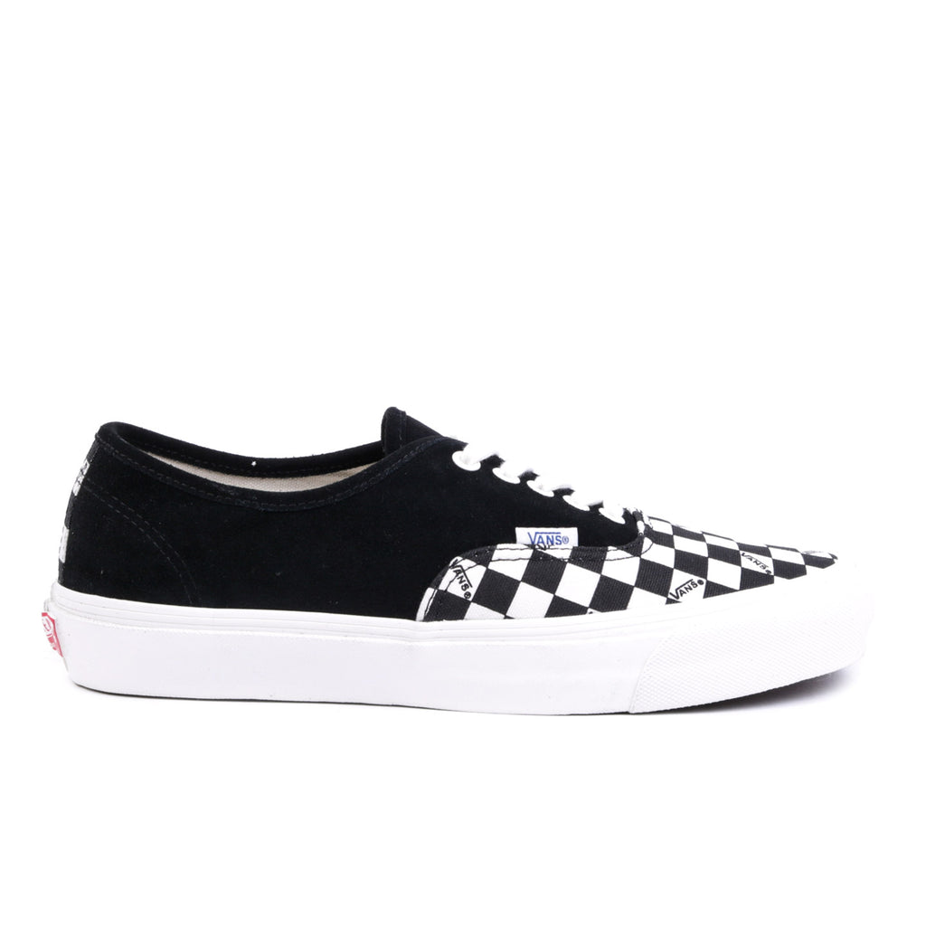 VAULT BY VANS OG AUTHENTIC LX BLACK / CHECKERBOARD | TODAY