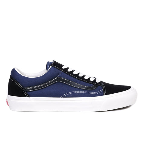 VAULT BY VANS OG OLD SKOOL LX BLACK / INSIGNIA BLUE