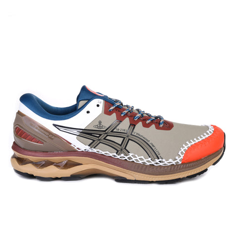 ASICS VIVIENNE WESTWOOD GEL-KAYANO 27 DE LICHEN GREEN / OX BROWN