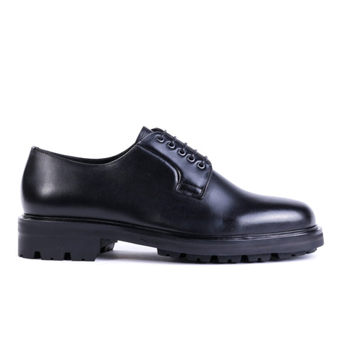 WINGS + HORNS OFFICER SHOE BLACK