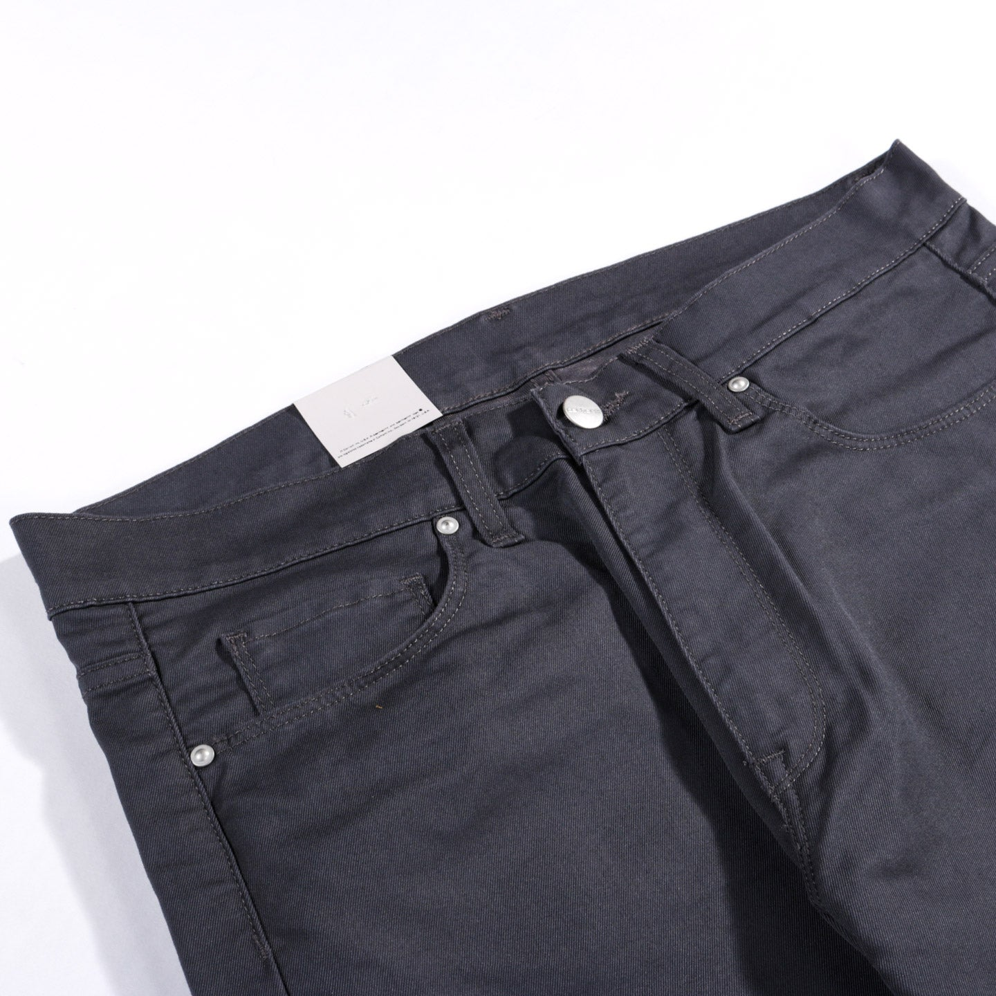 CARHARTT WIP VICIOUS PANT 'LAMAR' STRETCH TWILL BLACKSMITH