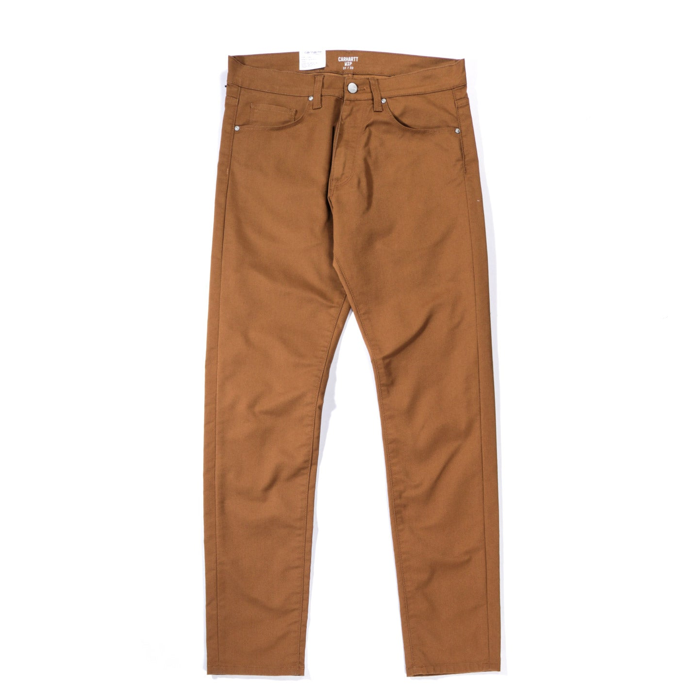 CARHARTT WIP VICIOUS PANT 'LAMAR' STRETCH TWILL HAMILTON BROWN