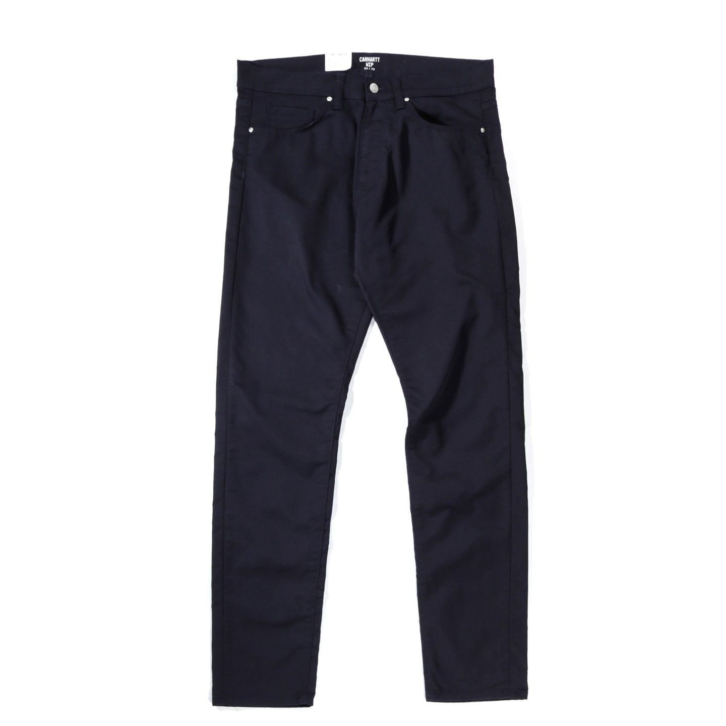 CARHARTT WIP VICIOUS PANT 'LAMAR' STRETCH TWILL DARK NAVY