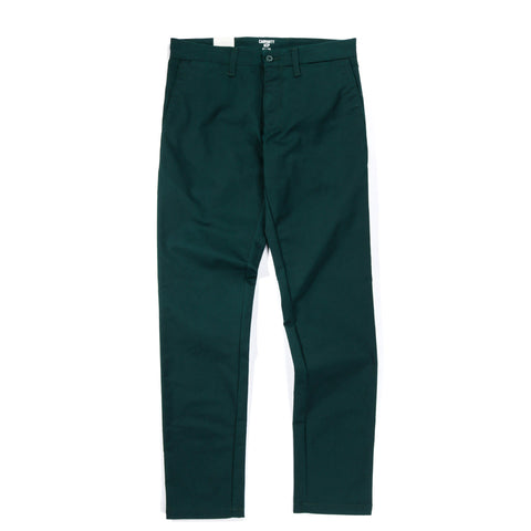 CARHARTT WIP SID PANT 'LAMAR' STRETCH TWILL PARSLEY