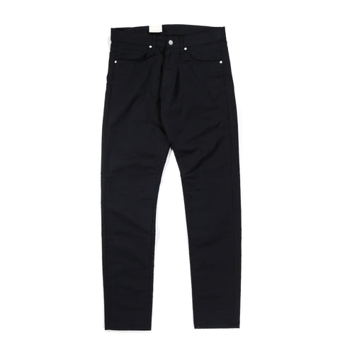CARHARTT WIP VICIOUS PANT 'LAMAR' STRETCH TWILL BLACK