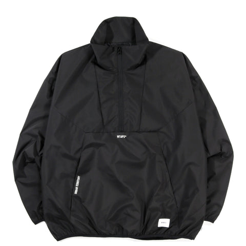 WTAPS DUCK PULLOVER JACKET BLACK