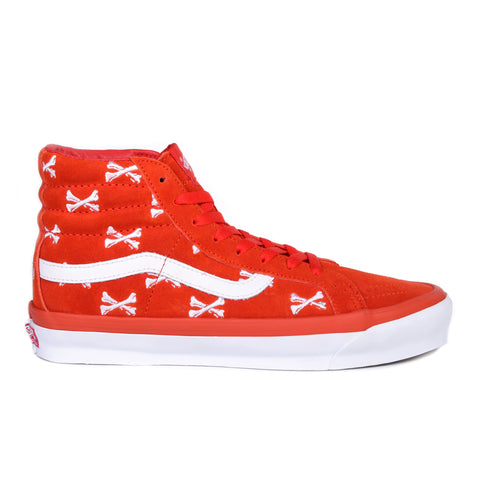 VAULT BY VANS OG SK8-HI LX WTAPS BONES ORANGE