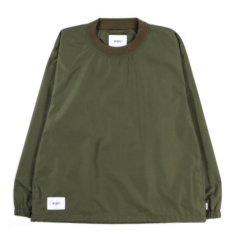 WTAPS SMOCK PULLOVER OLIVE DRAB