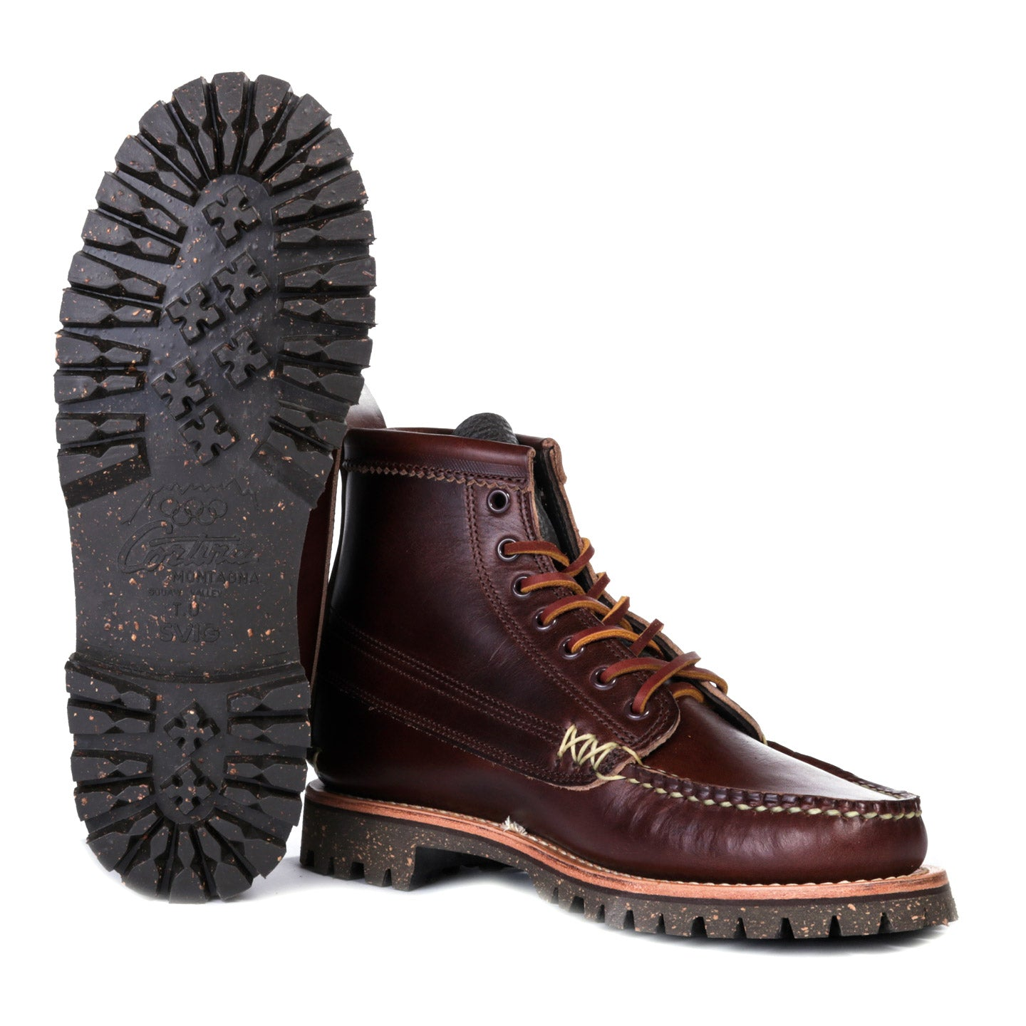 YUKETEN ANGLER BOOT BROWN