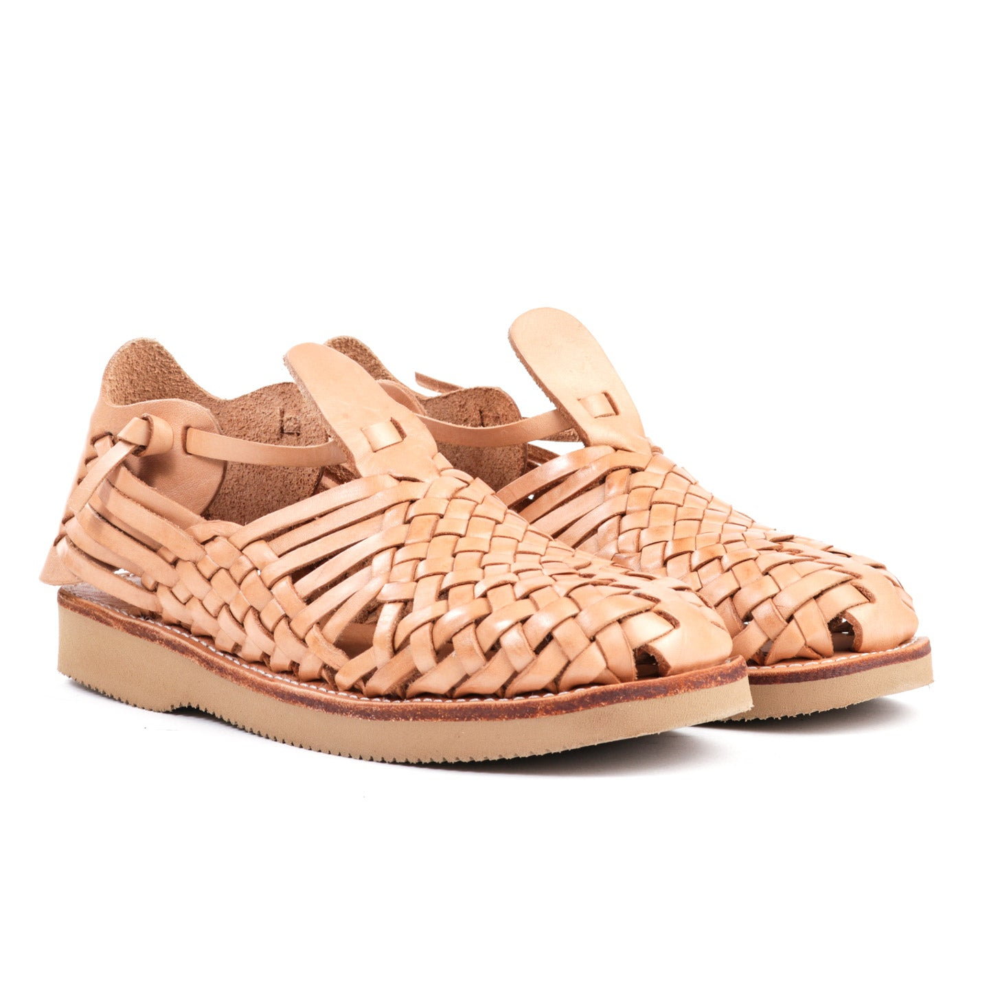YUKETEN CRUZ SANDAL NATURAL