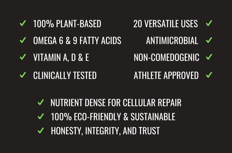 Battle Balm plant based clinically tested vitamin enriched antimicrobial sustainable pain relief cream
