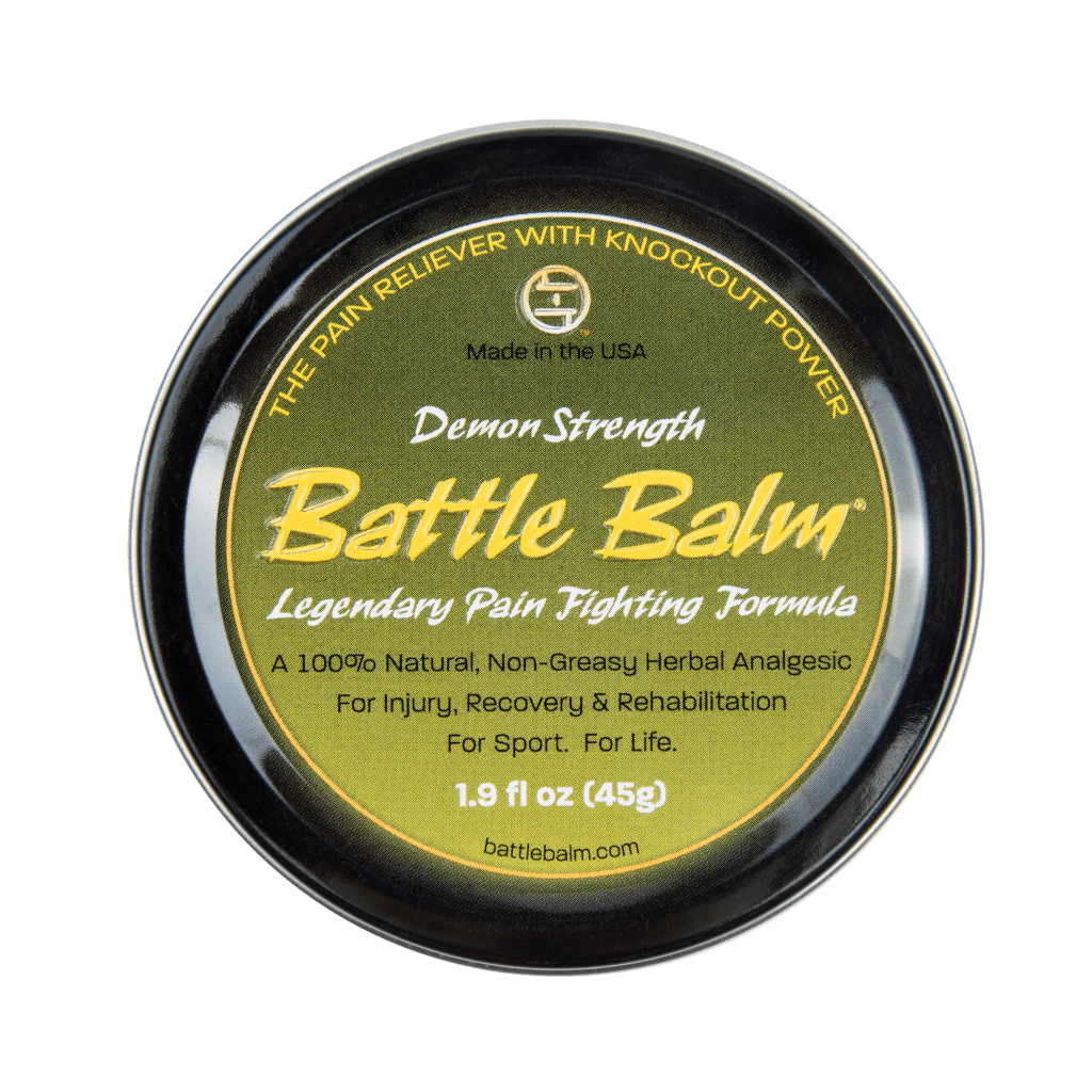 Battle Balm Demon Strength All Natural Topical Pain Cream Dit Da Jow Formula