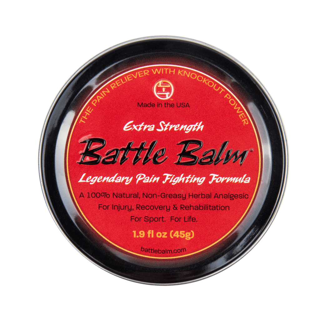 Battle Balm Extra Strength All Natural Topical Pain Cream Dit Da Jow Formula