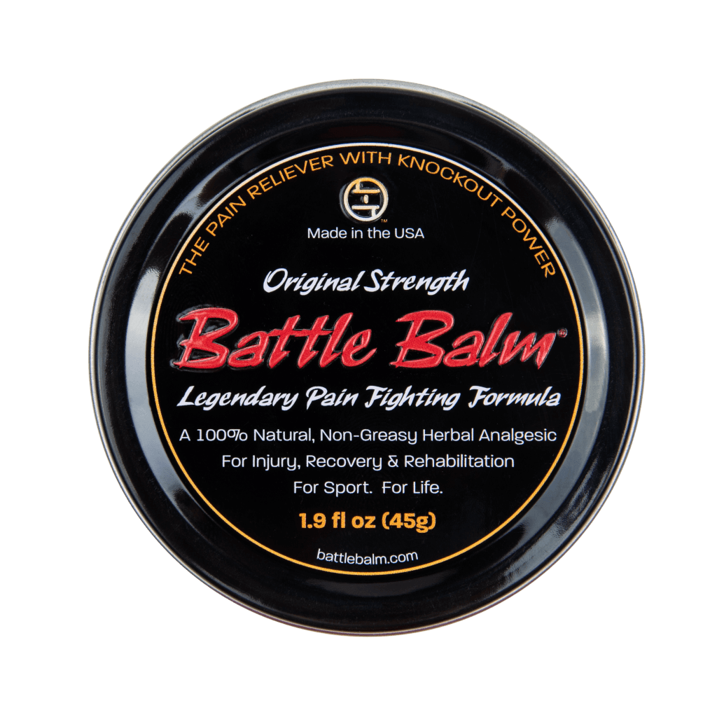 Battle Balm Original Strength All Natural Topical Pain Cream Dit Da Jow Formula