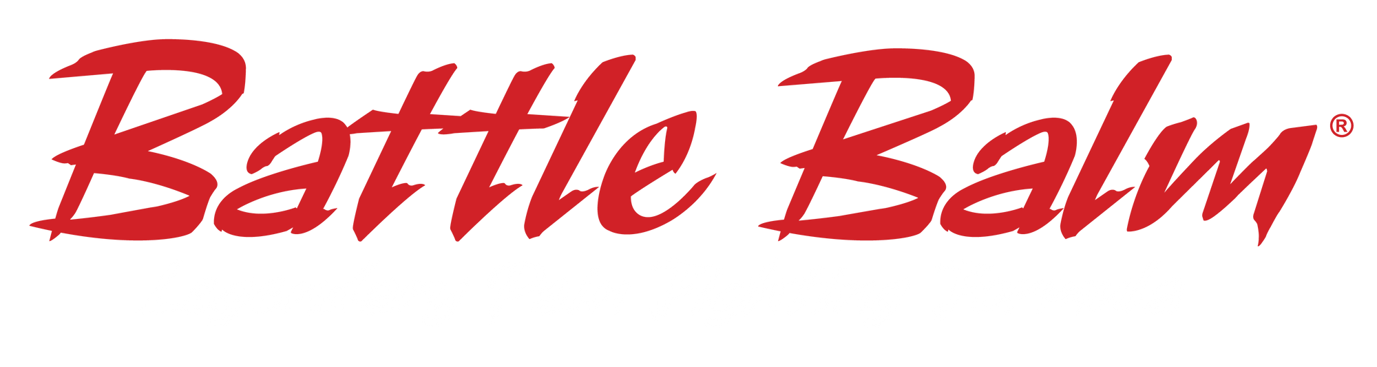 Battle Balm Mobile Friendly Small Stylized Text Logo