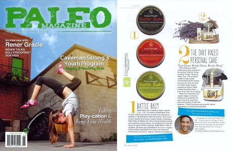 Paleo Magazine Battle Balm Product Review