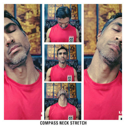 Compass Neck Stretch - 4 Directions For Chronic Neck Pain Relief