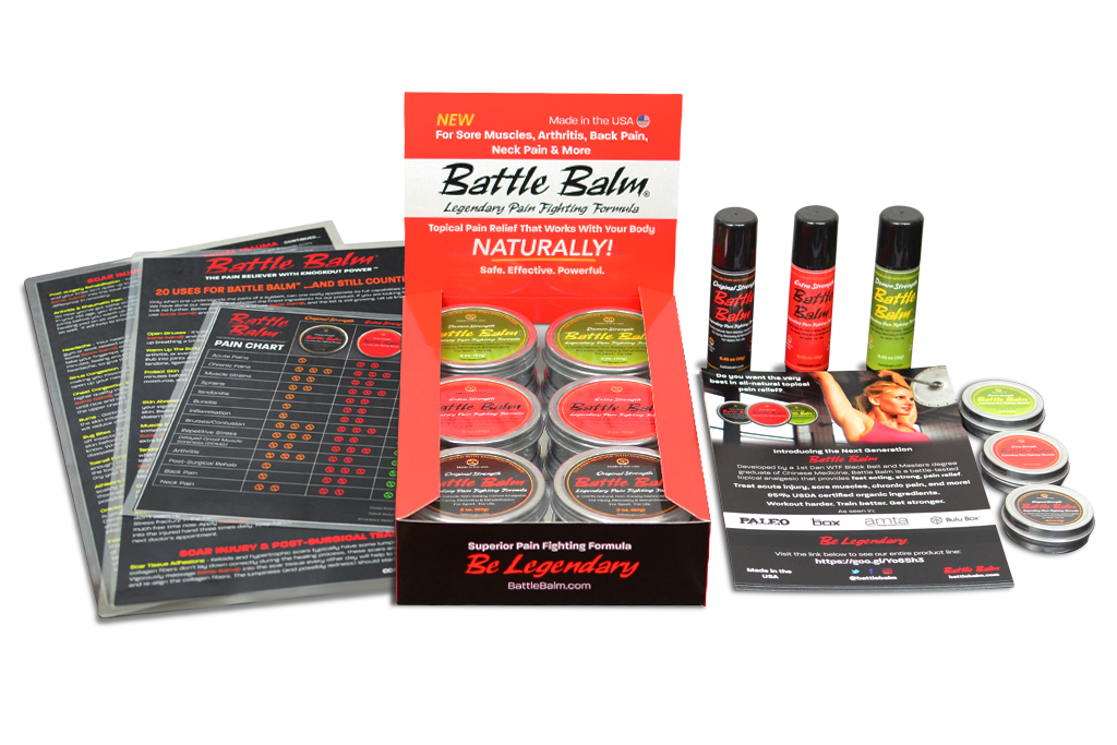 Battle Balm Retail Starter Kit