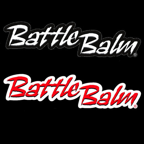 "12"" Battle Balm® Original Bumper Sticker - Battle Balm®"