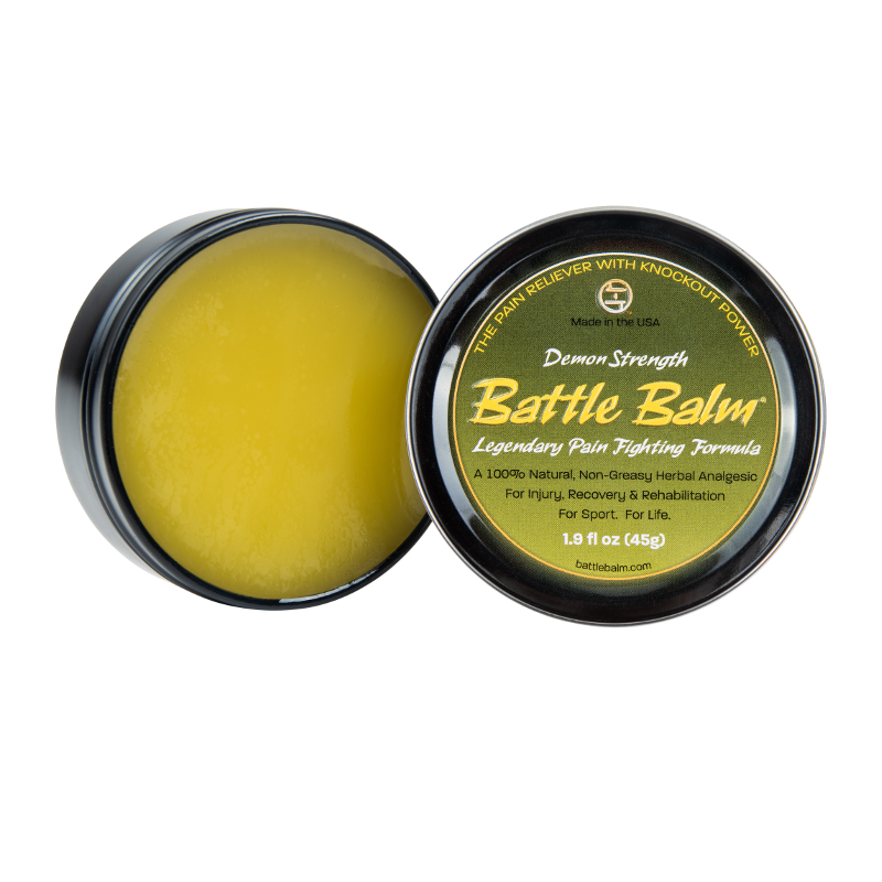 Battle Balm® - Demon Strength All Natural & Organic Pain Relief Cream