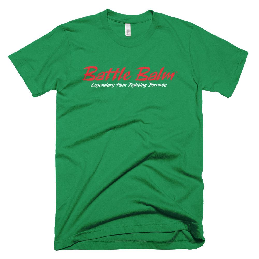 Battle Balm® Tee-Shirt - The Original (Men's) [Kelly Green]