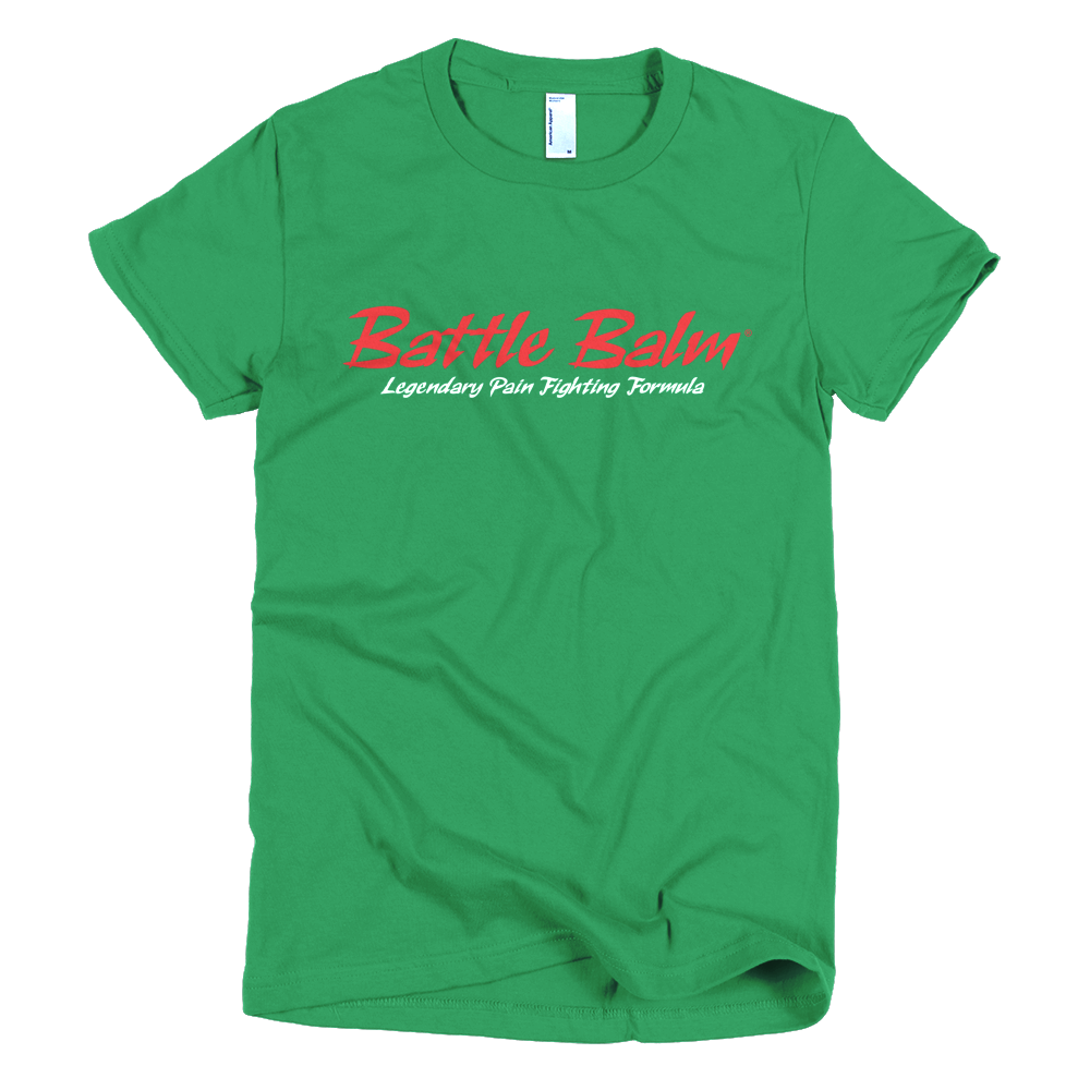 Battle Balm® Tee-Shirt - The Original (Women's) [Kelly Green]