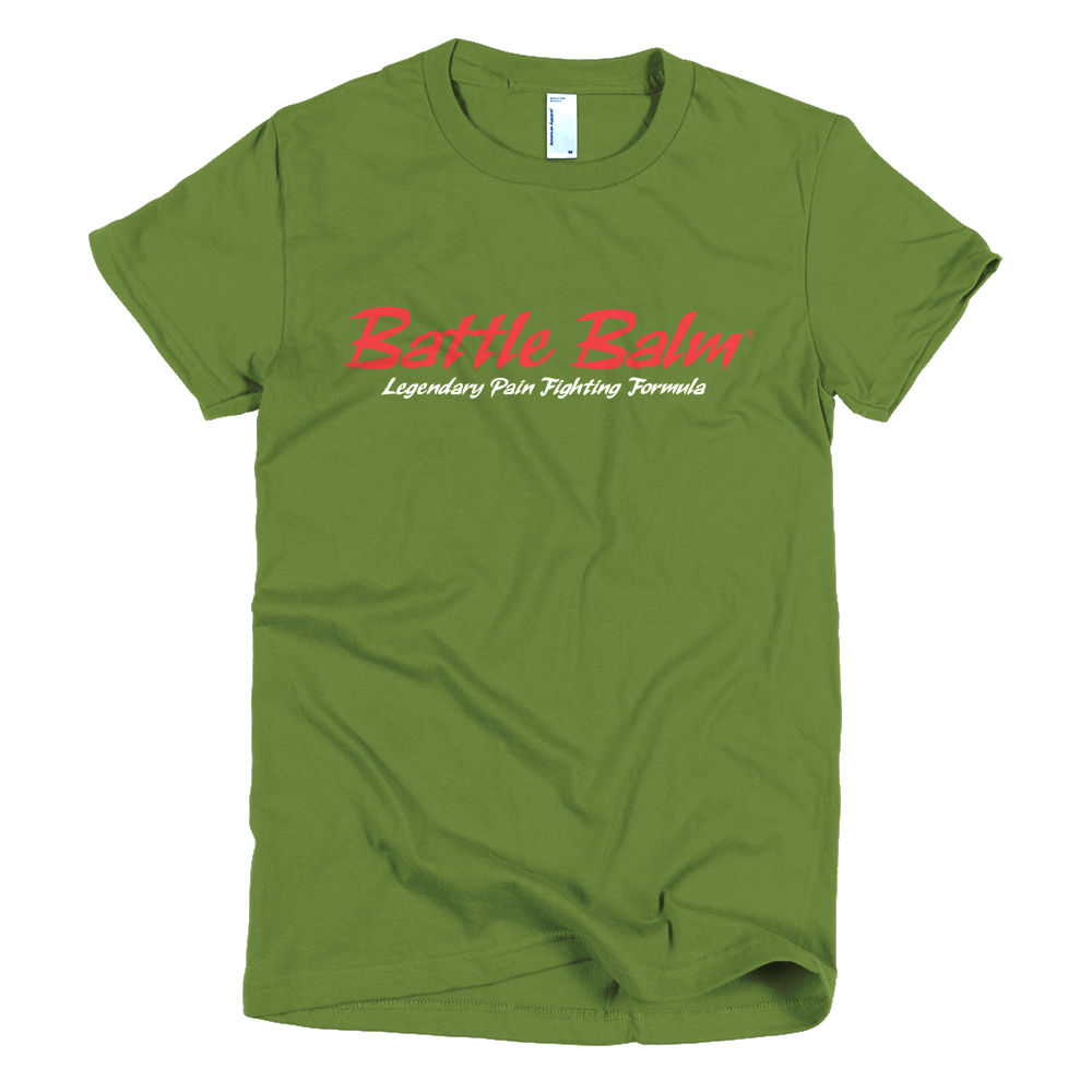 Battle Balm® Tee-Shirt - The Original (Women's) [Olive]