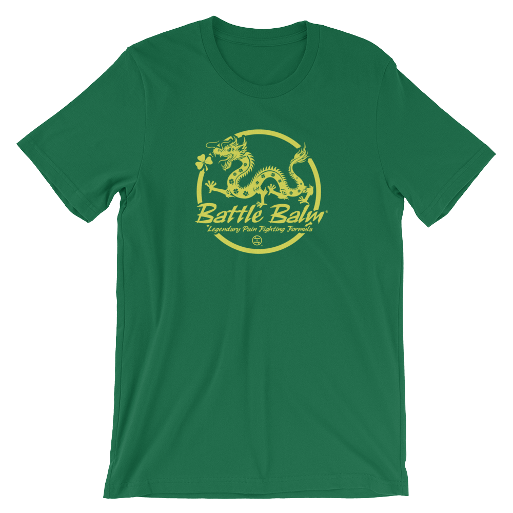 Luck O' The Dragon Short-Sleeve Unisex Tee-Shirt (Green)