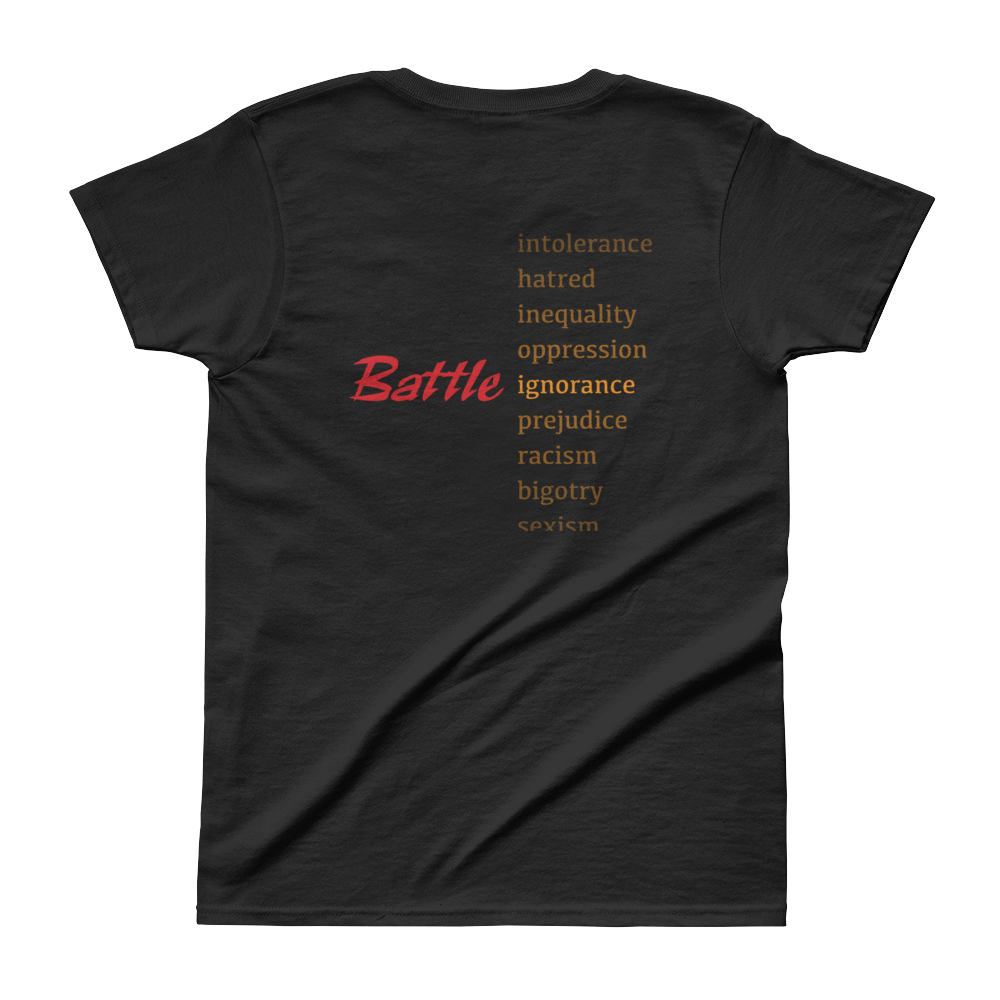 Battle for Human Rights Tee - Let's Open our Minds