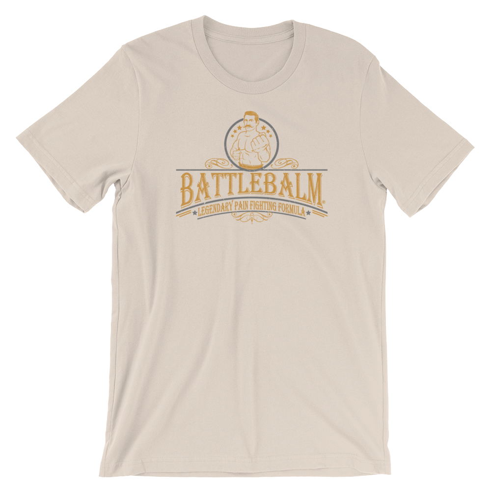 BATTLE BALM® VINTAGE BARE KNUCKLES TEE-SHIRT (MENS)