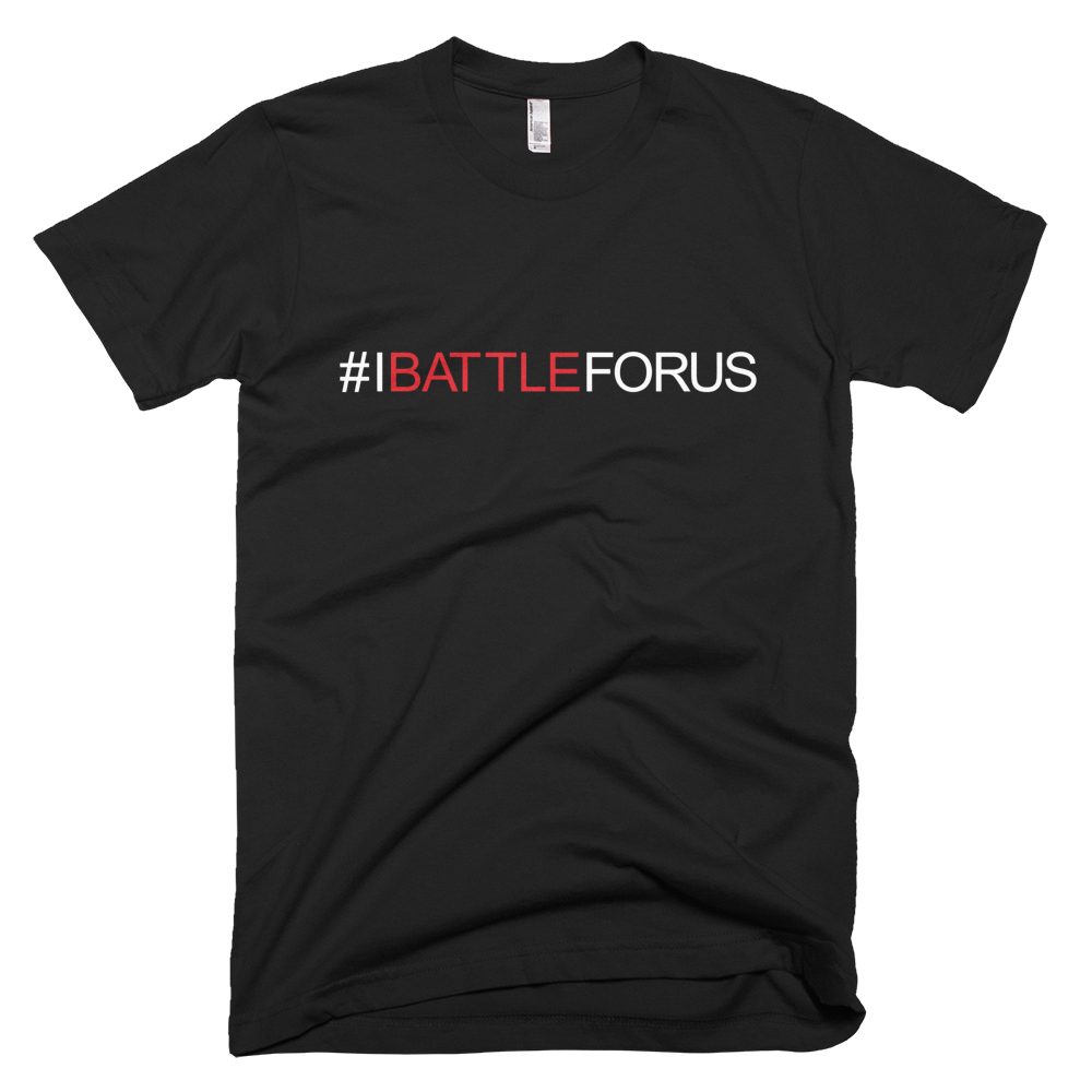 BATTLE BALM® #IBATTLEFORUS TEE-SHIRT (MENS)