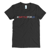 BATTLE BALM® #IBATTLEFORUS RWB TEE-SHIRT (WOMENS)