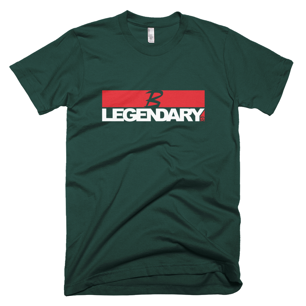 BATTLE BALM® B LEGENDARY TEE-SHIRT RED-WHITE (UNISEX)
